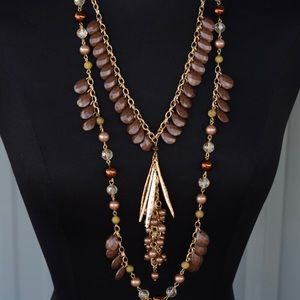 New Treska Double Necklace